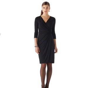 NWT BHWM Mate Jersey Faux Wrap Dress (M)